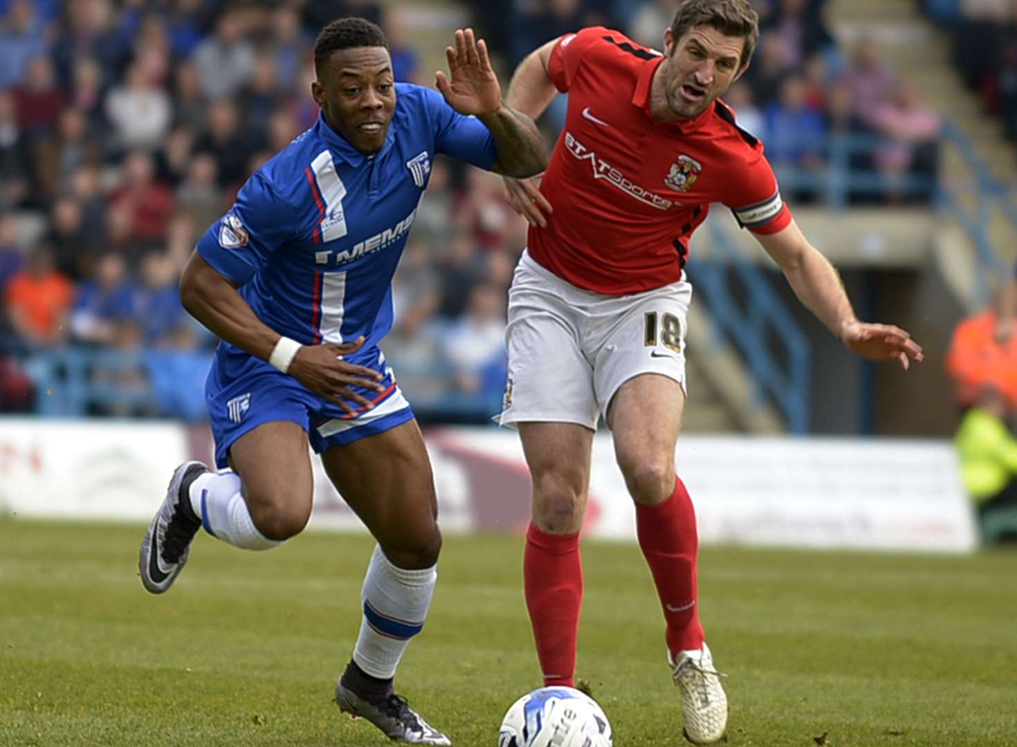 Gillingham v Coventry City - in pictures