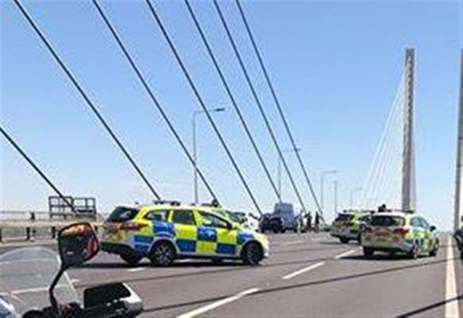 Bridge closed over 'concerns for man's welfare'