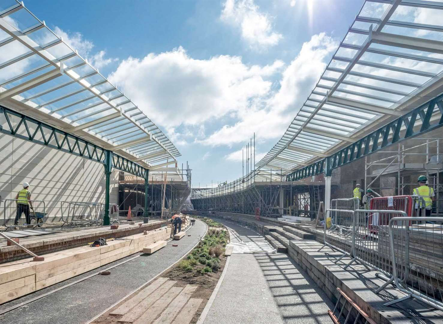 Harbour station project on track
