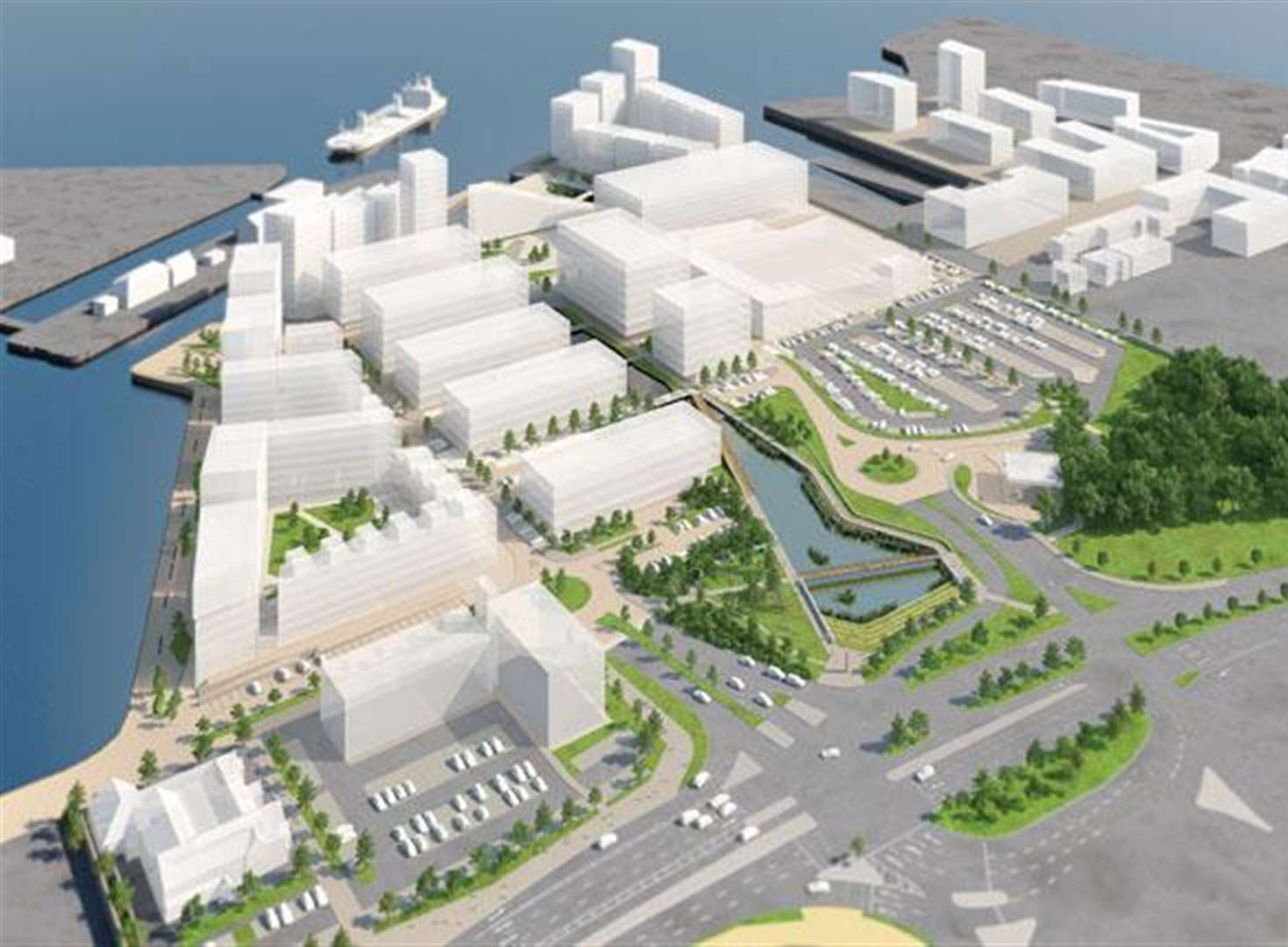 Dockside scheme that could employ 3,500 given green light