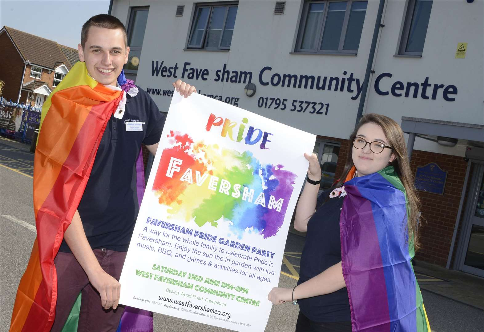 Town to host first Pride party