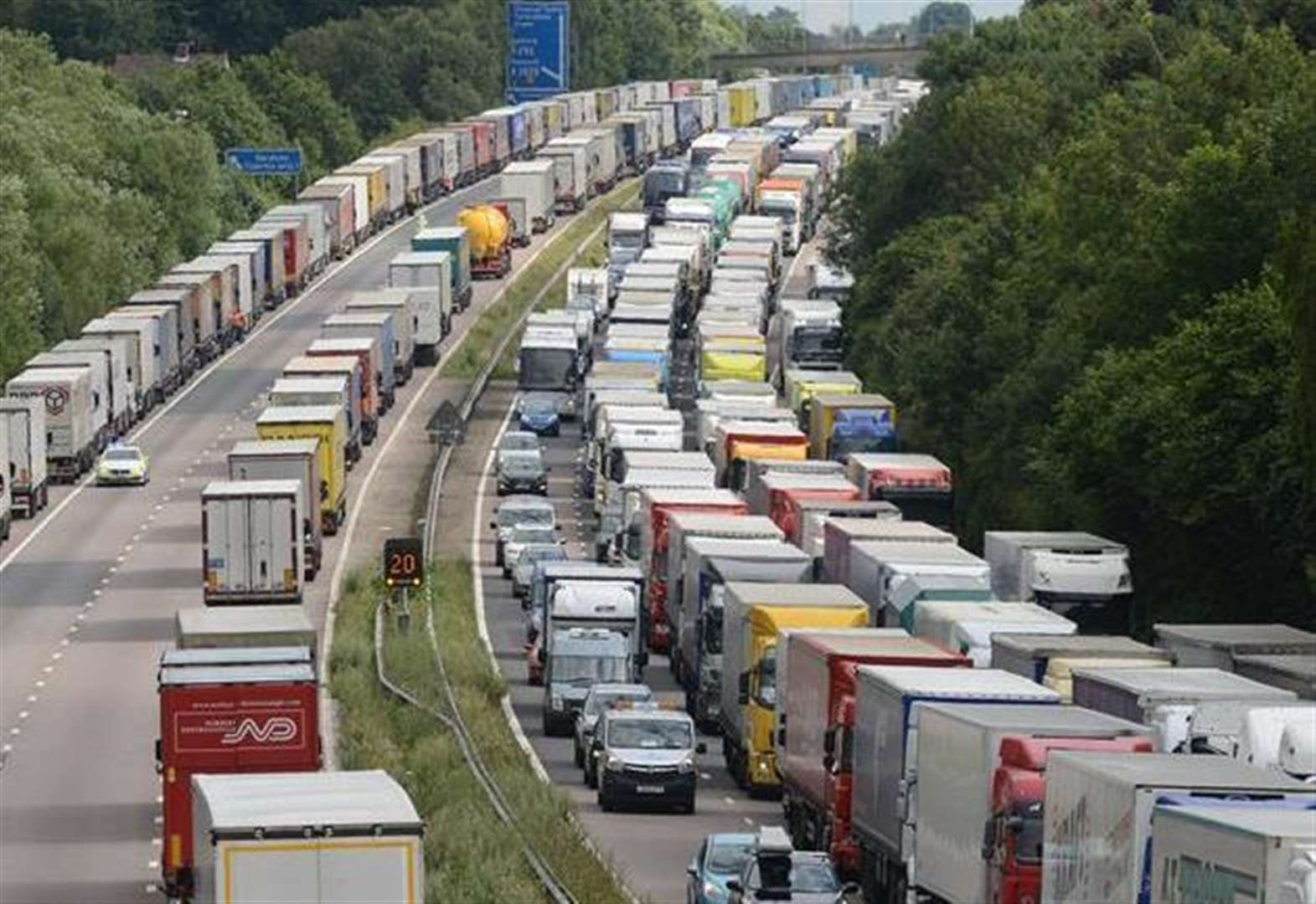 Lorry parks touted as solution to Op Stack