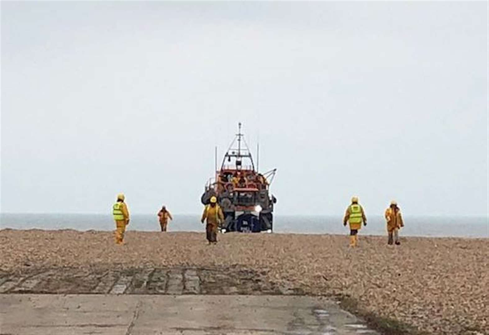Lifeboat crews recover body