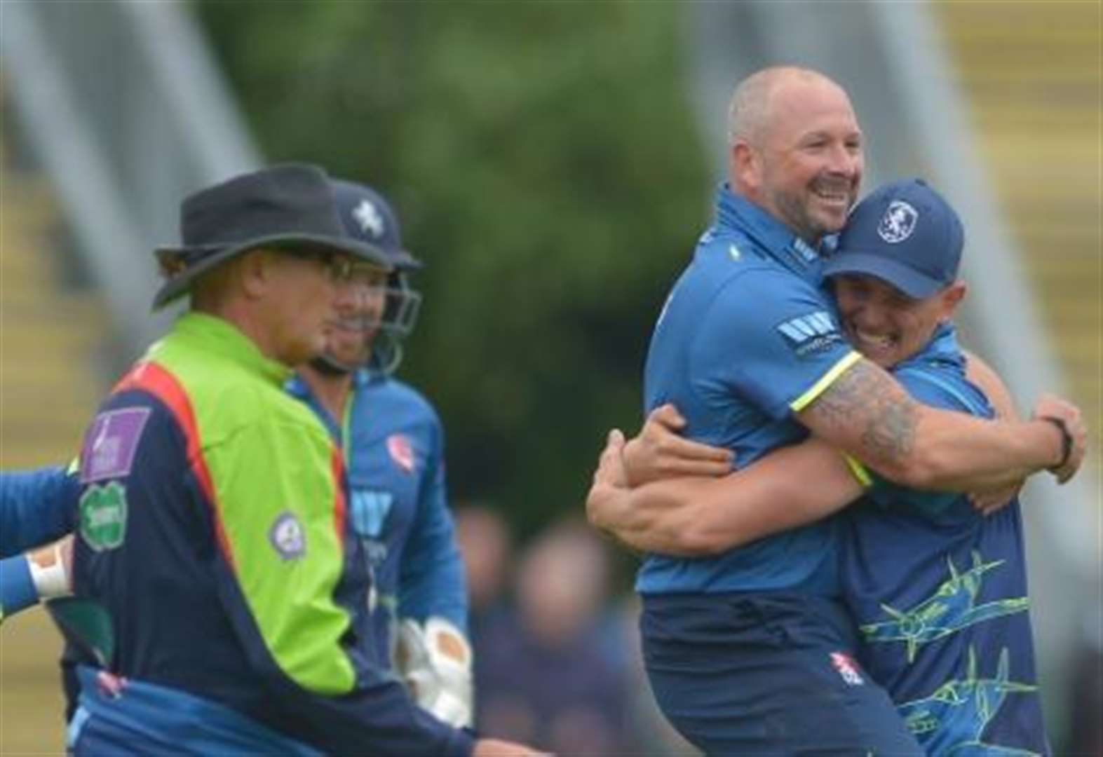 Kent Spitfires v Hampshire at Lord's - as it happened