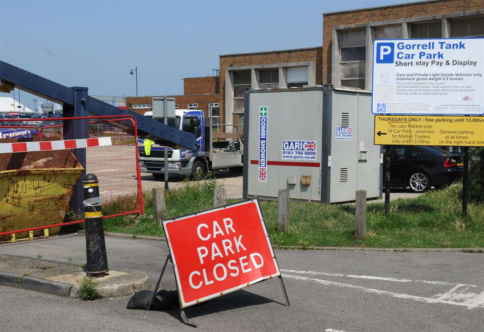 Seaside visitors face parking misery over the bank holiday weekend