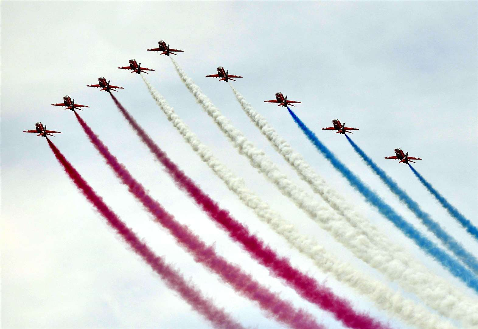 Flypast times revealed for airshow