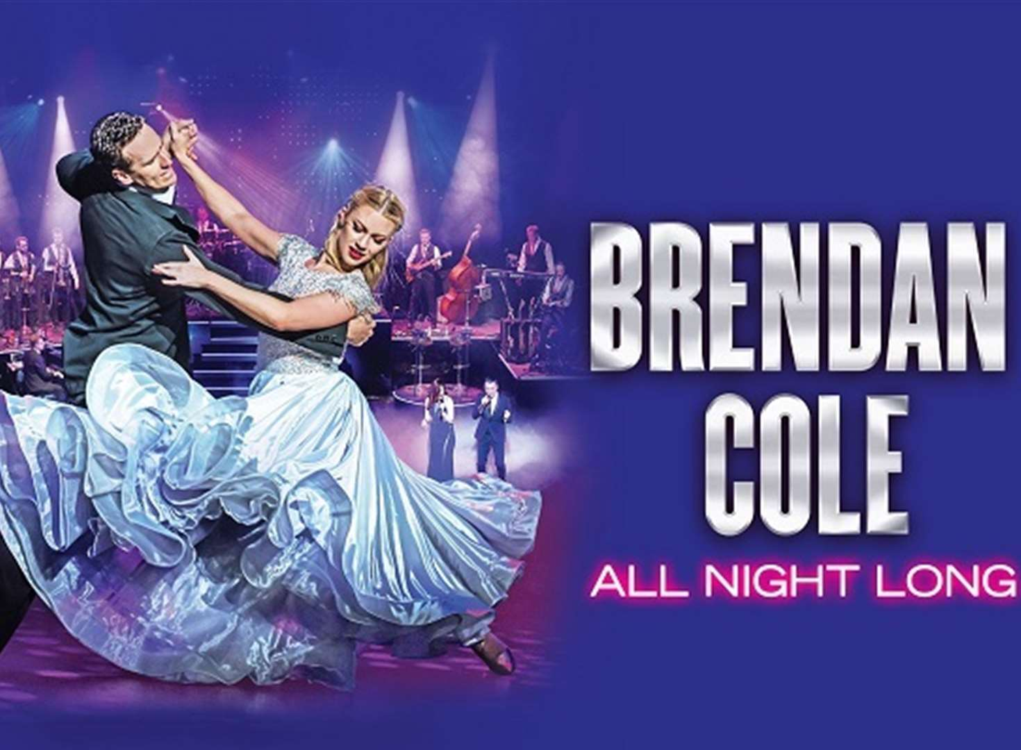 Strictly's Brendan talks All Night Long with kmfm
