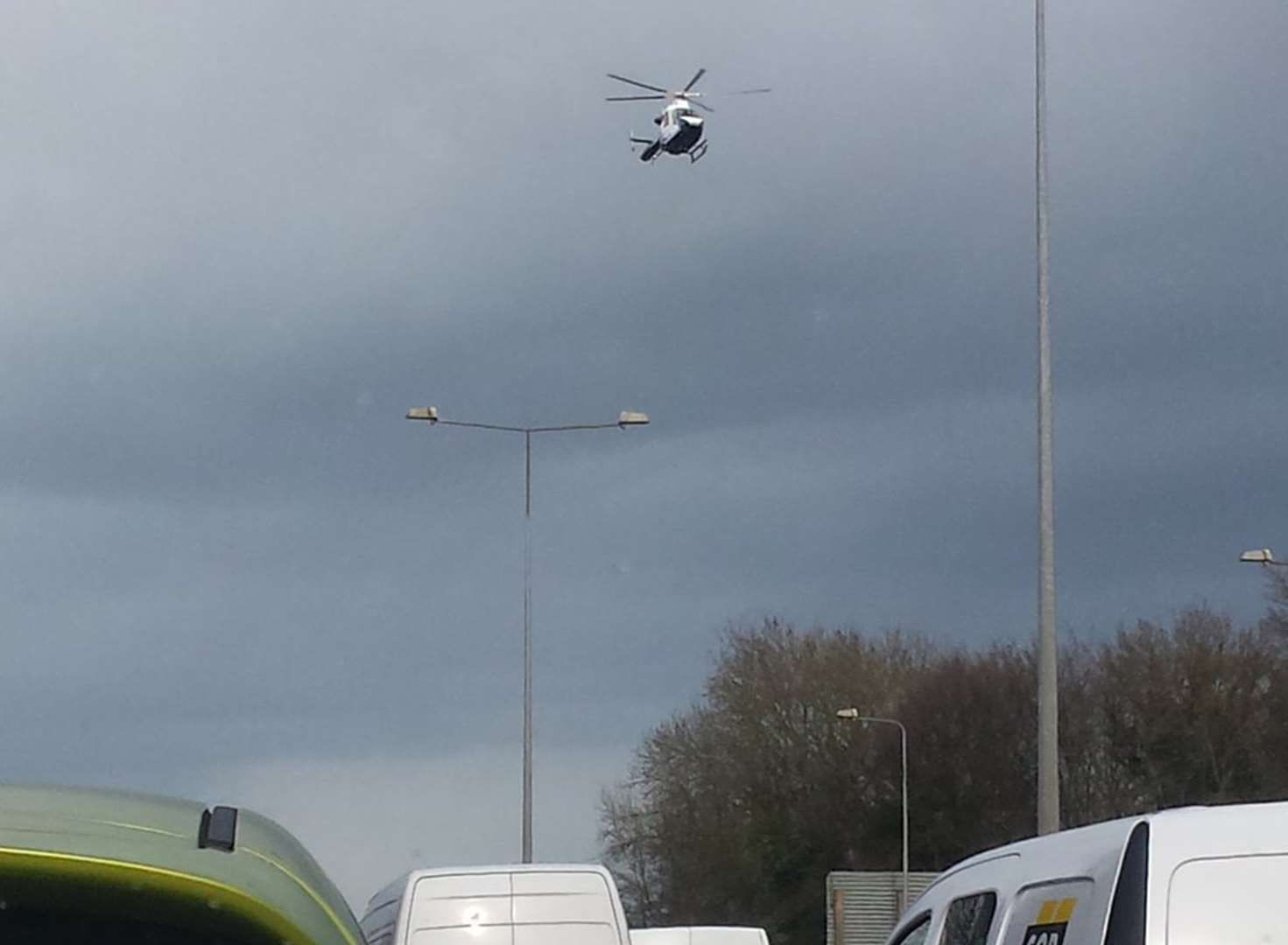 Appeal after biker seriously hurt in M2 crash