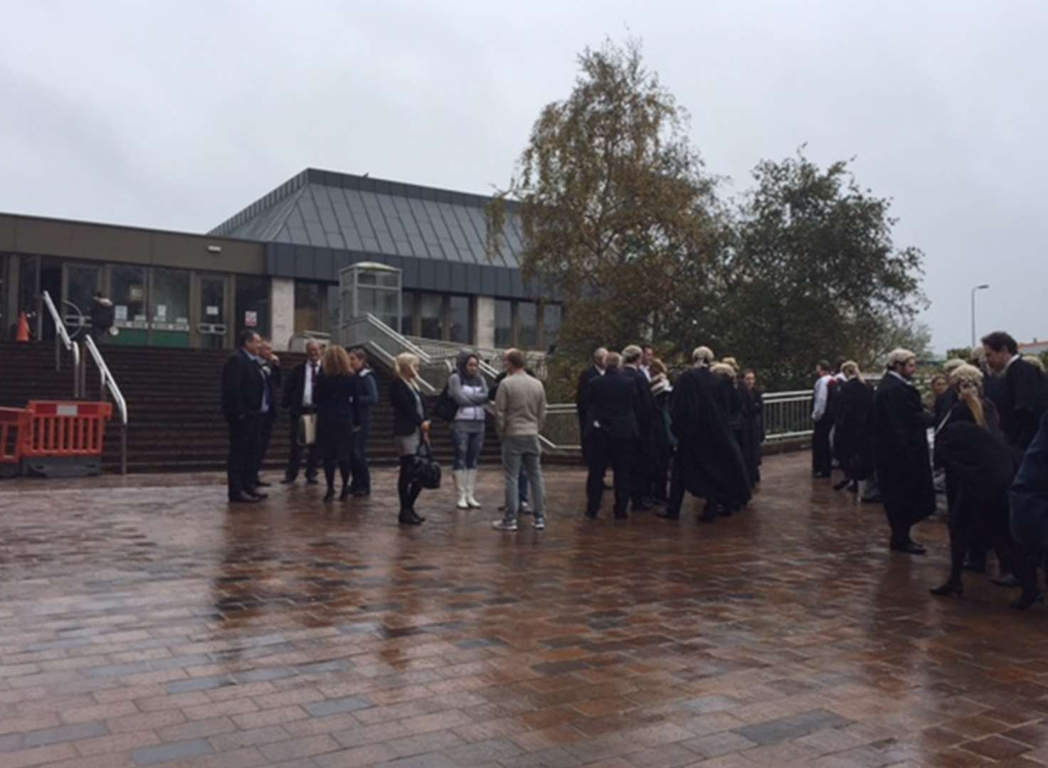 Crown Court evacuated