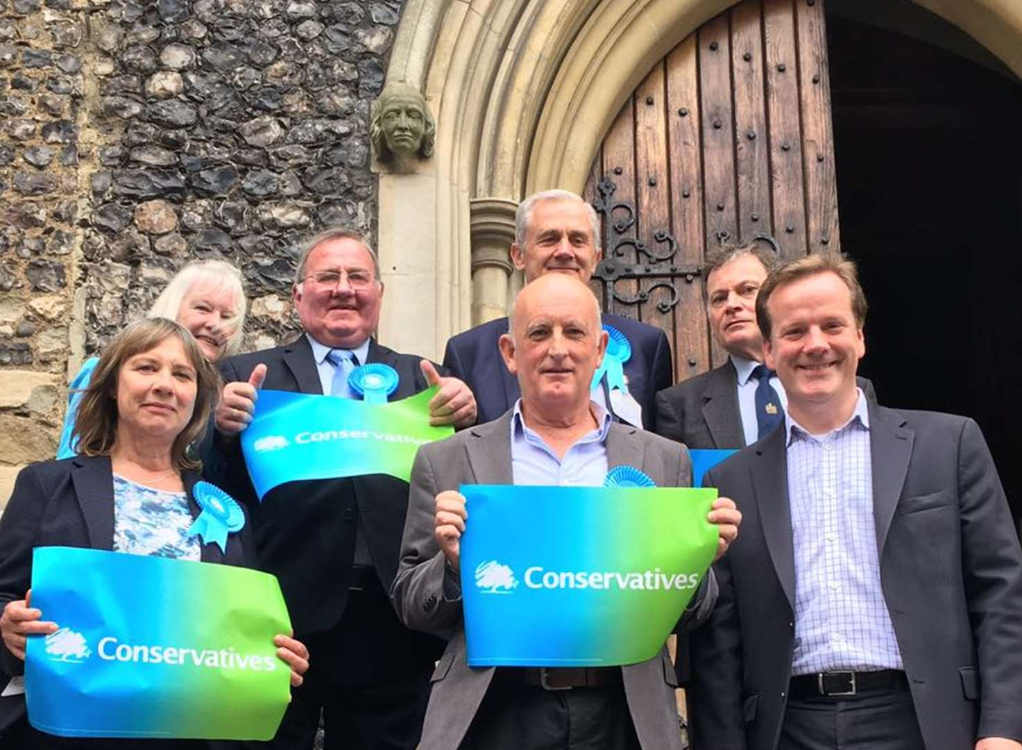 Clean sweep for Tories