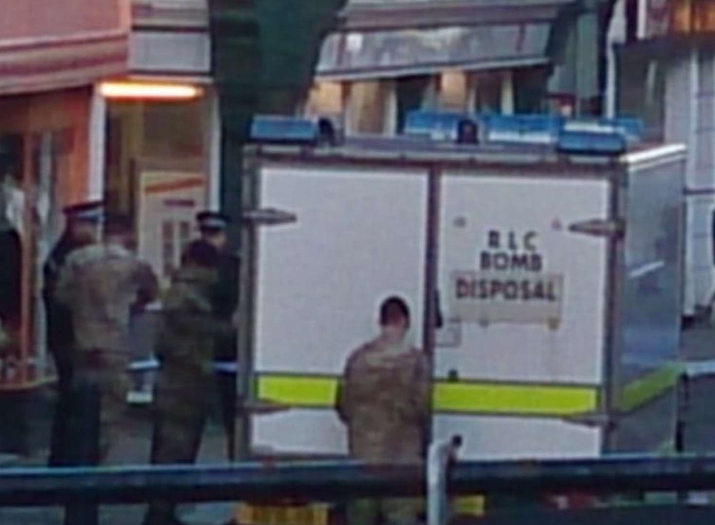 Bomb squad called as high street evacuated