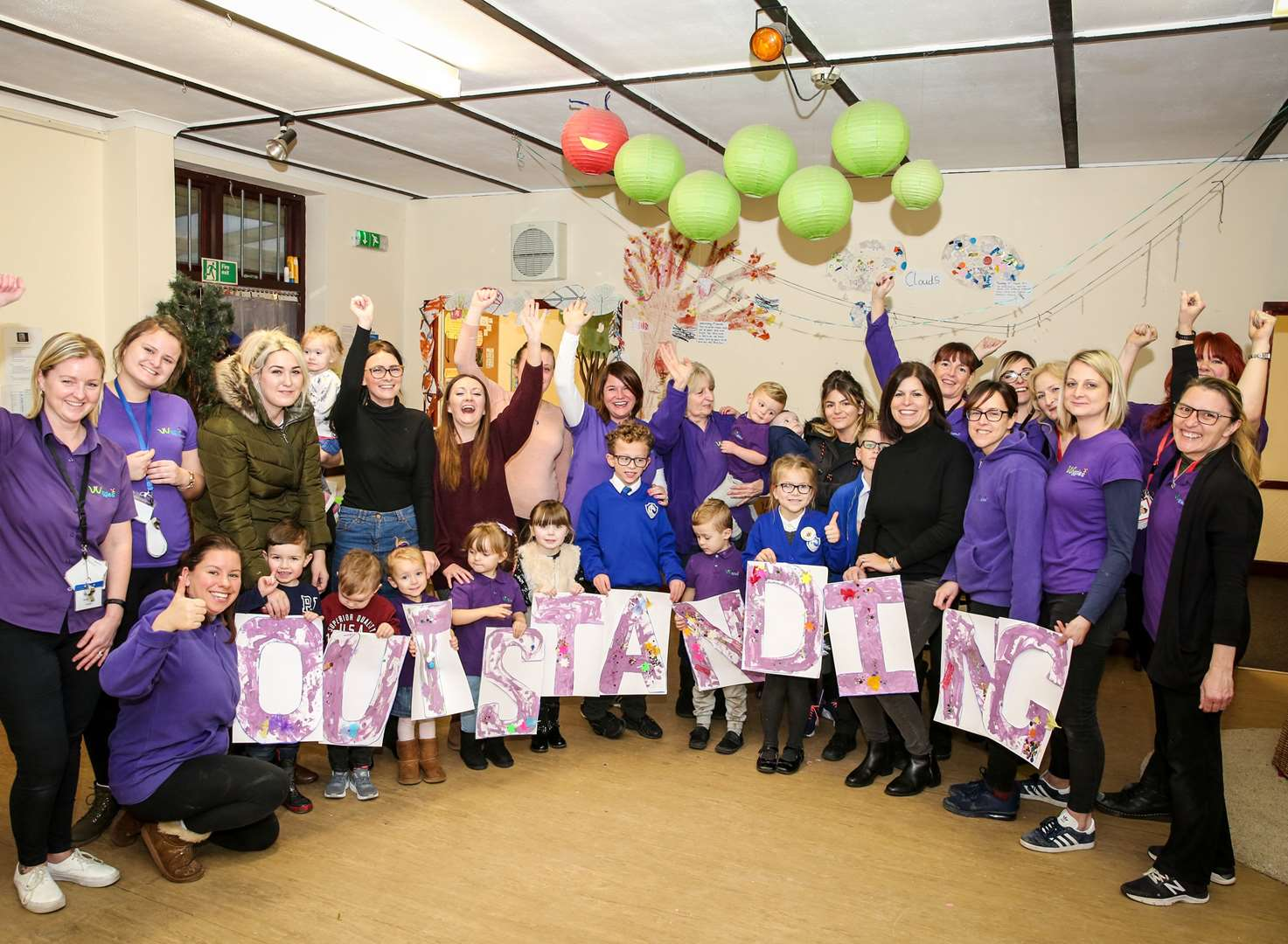 Playgroup celebrates its first Ofsted inspection