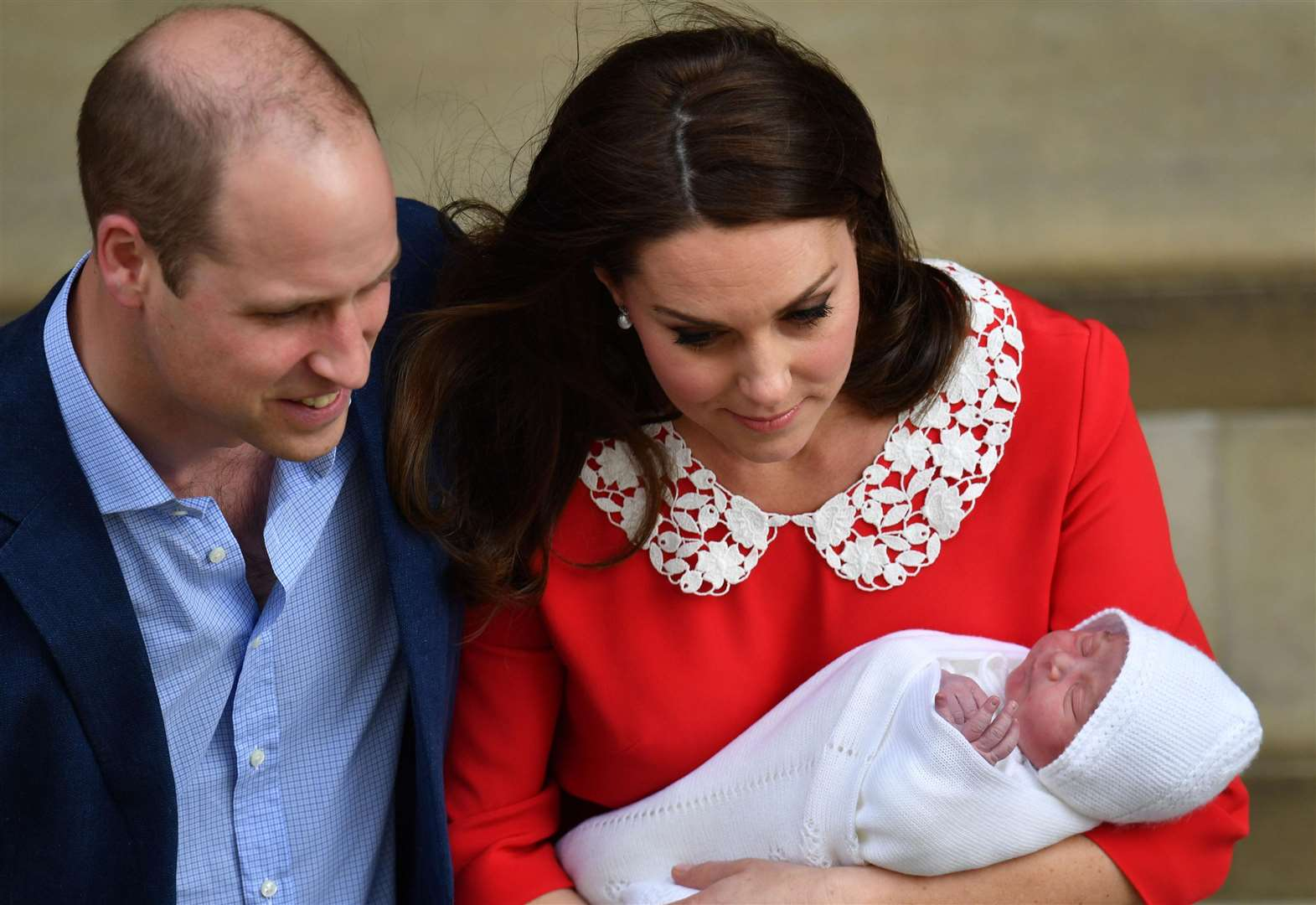 Kent faces feature at royal christening