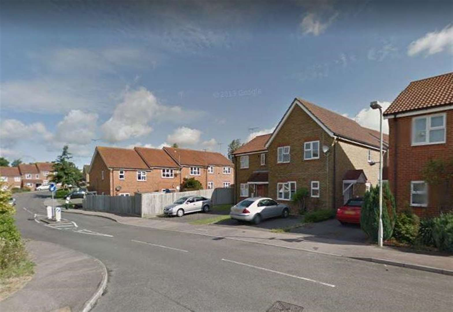 Man 'attacked' on housing estate