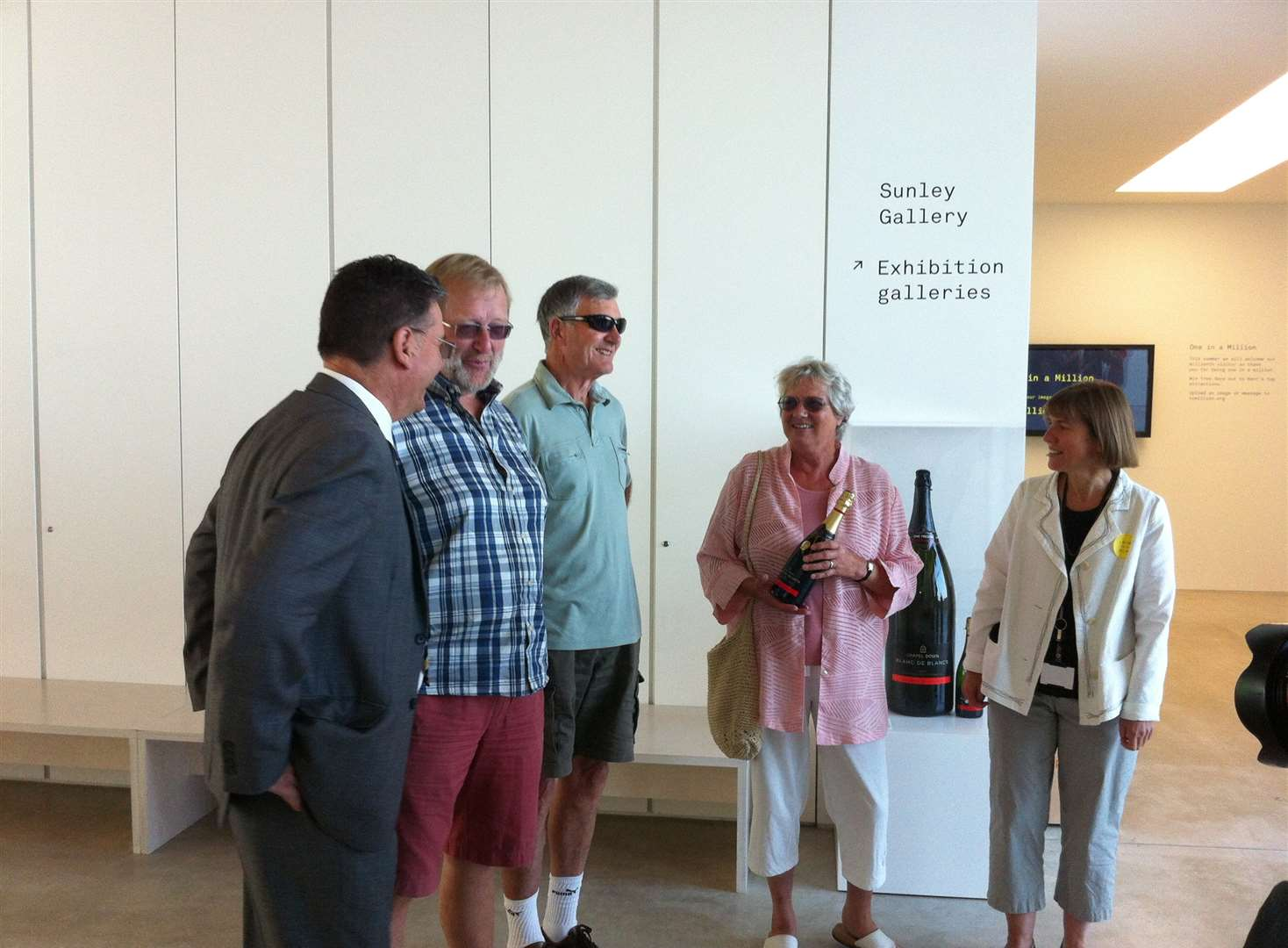 Turner Contemporary welcomes its millionth visitor