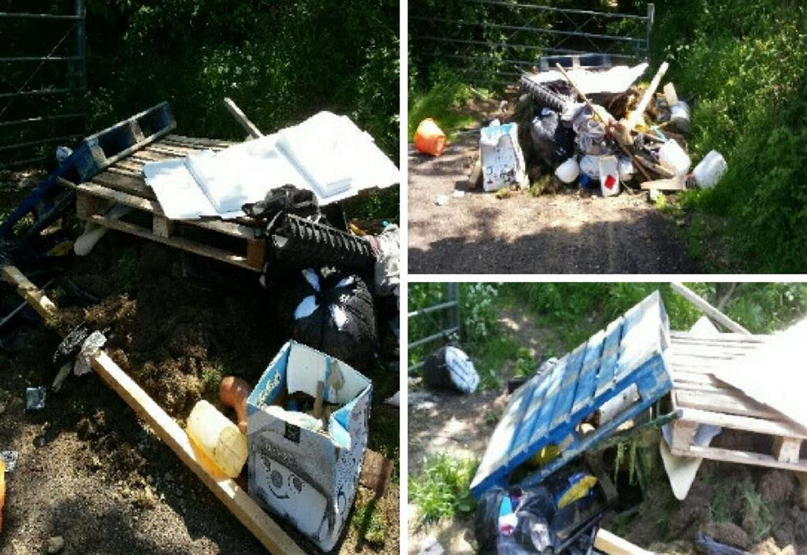 Fly-tipper receives hefty fine for dumping rubbish