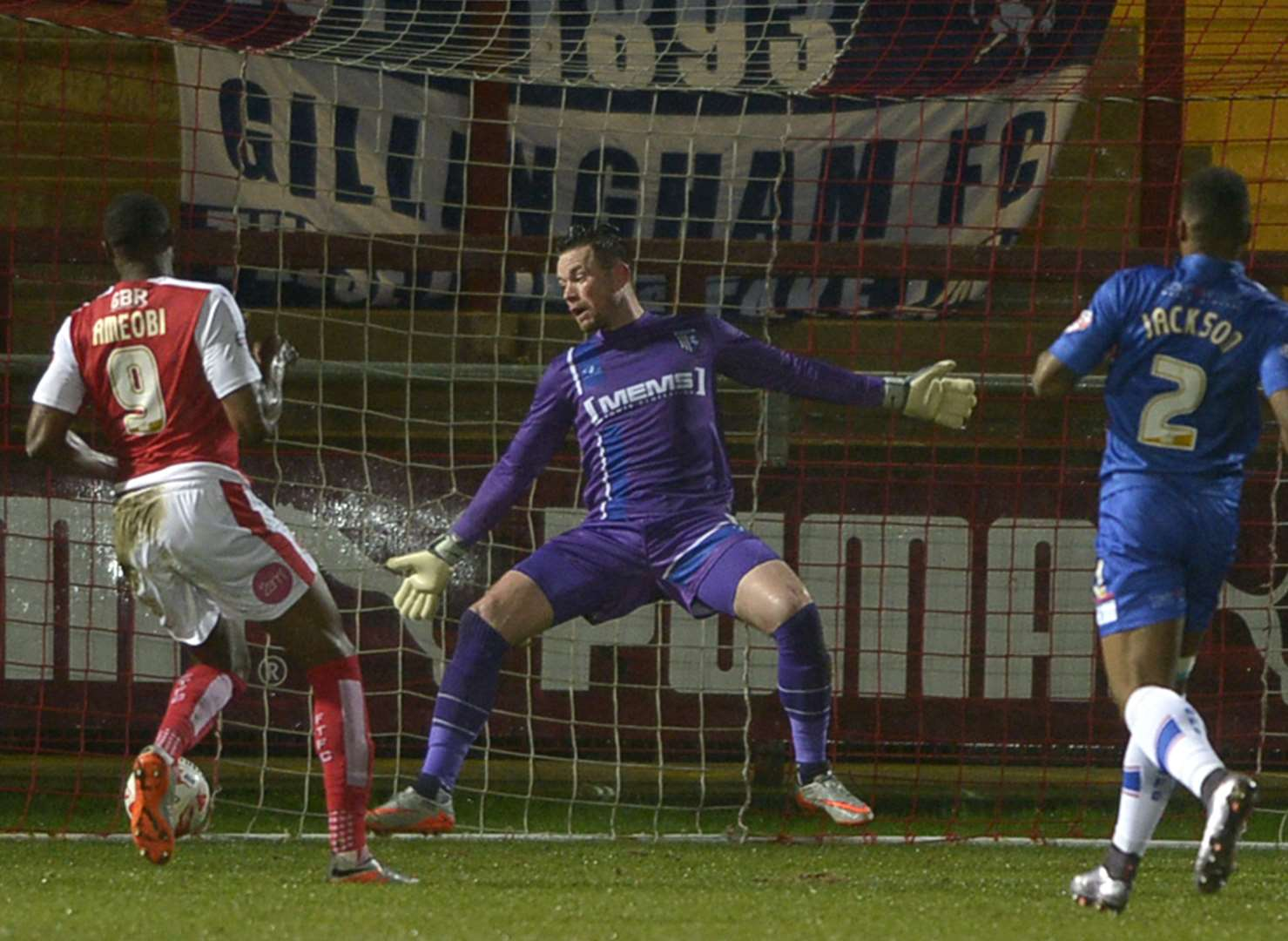 Fleetwood Town v Gillingham - in pictures