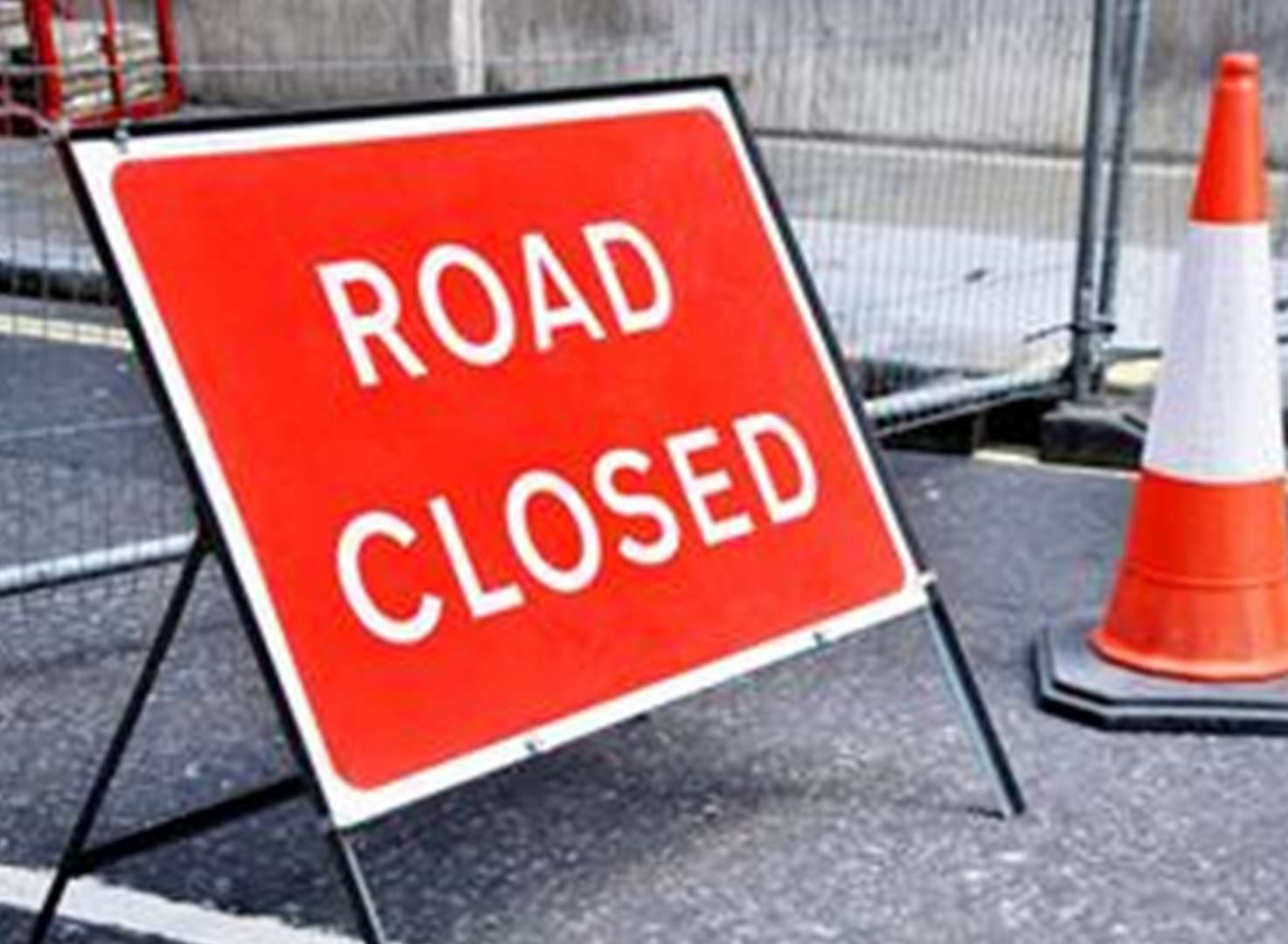 Main road closed for five days