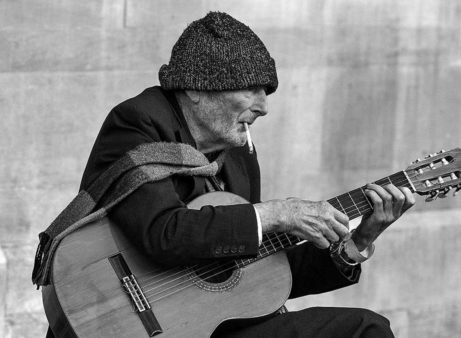 Farewell JP, the French busker who loved a smoke