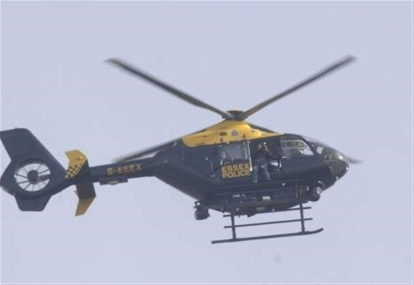 Helicopter scrambled in hunt for burglars