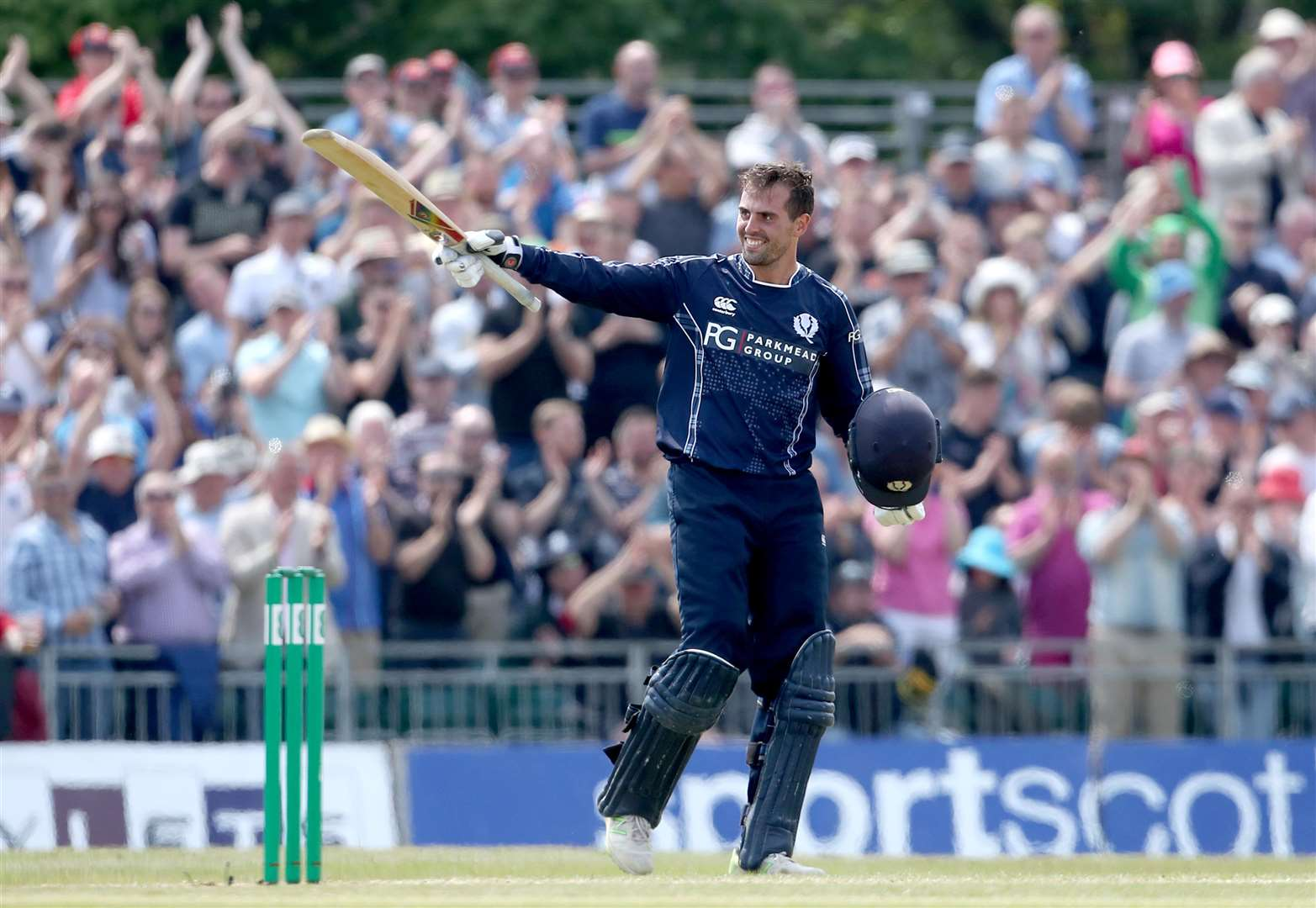 MacLeod relishes century against England