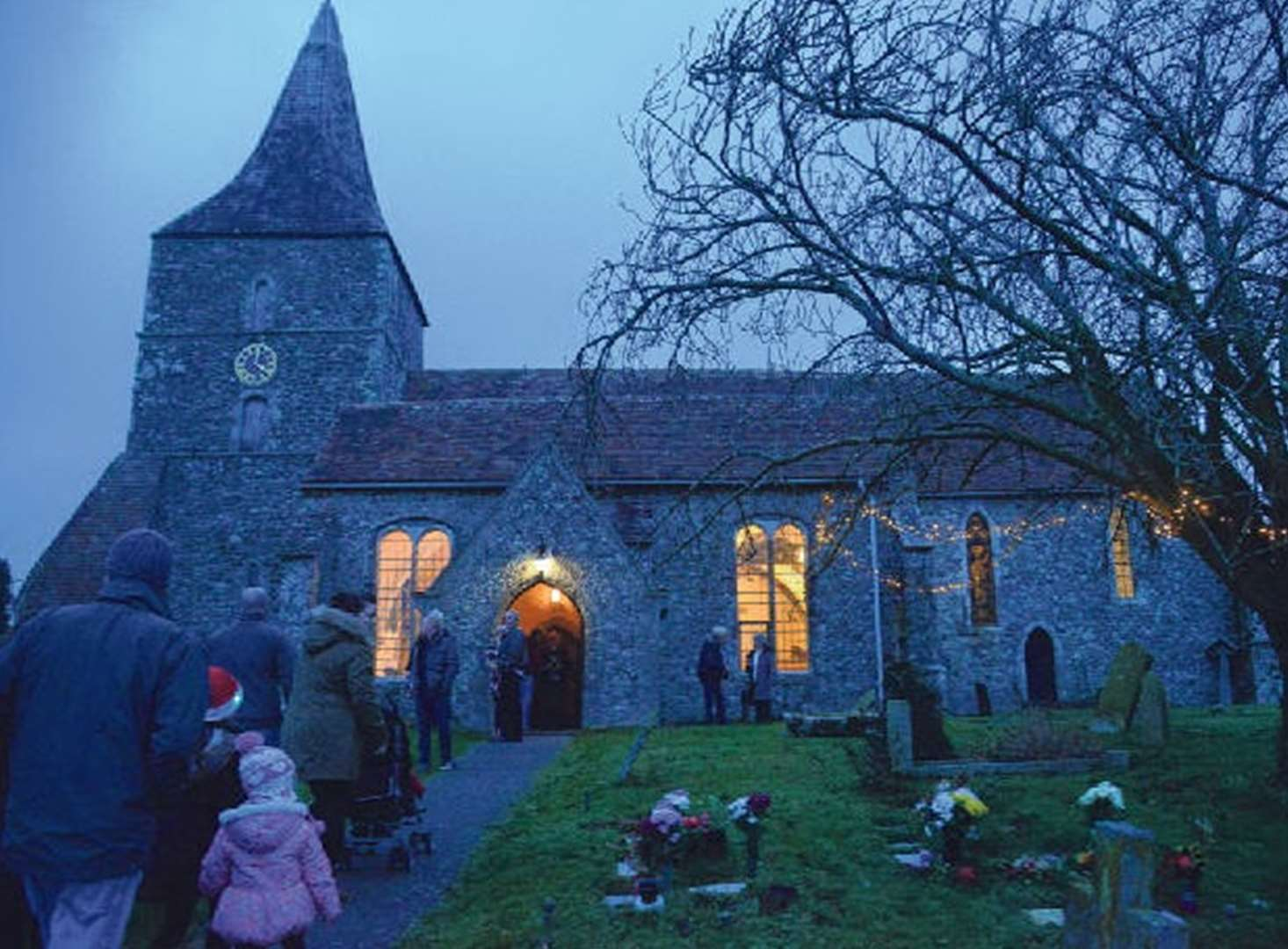 Mystery of human ashes left in church