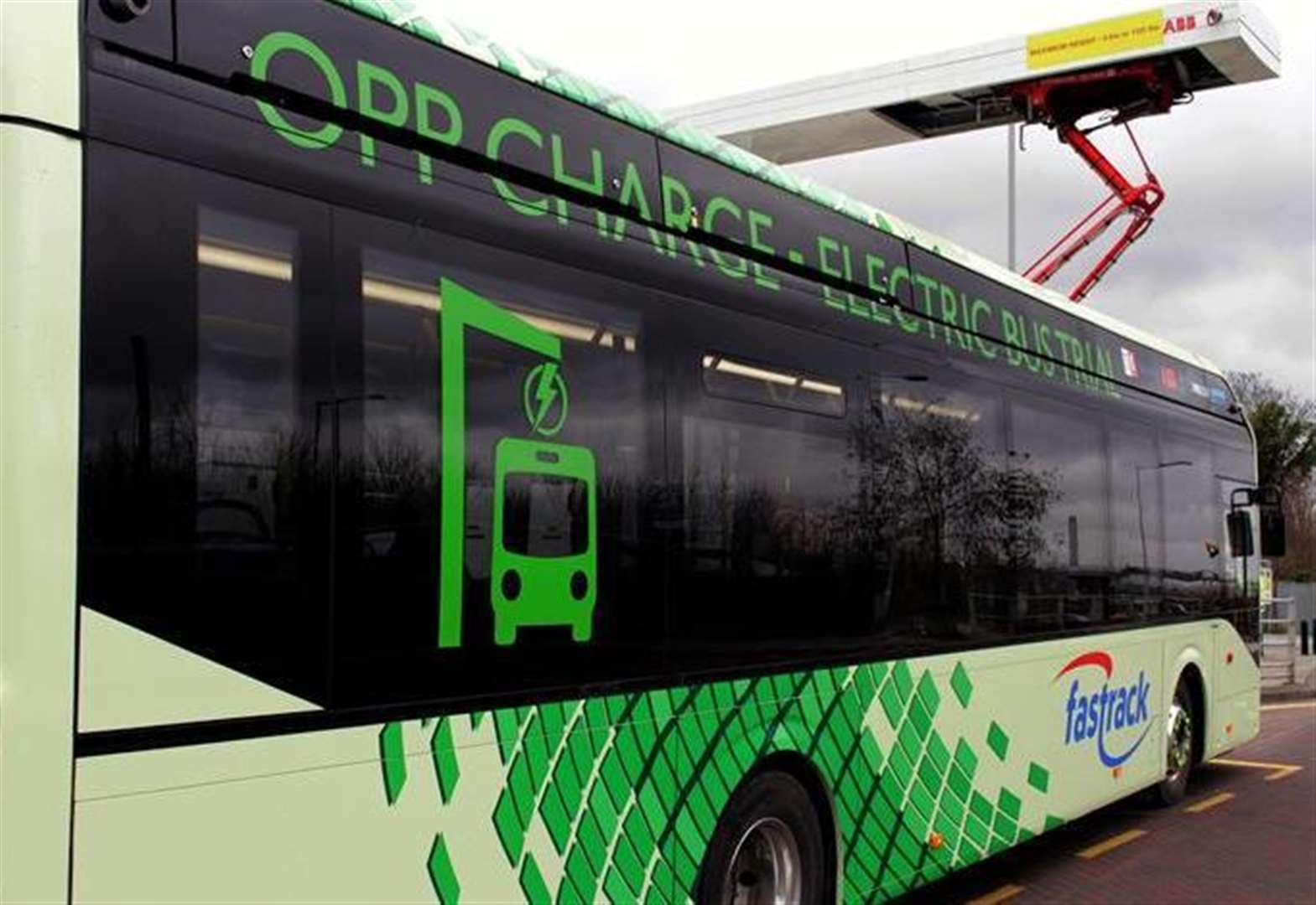 Battery-charged bus in north Kent could become permanent depending on trial