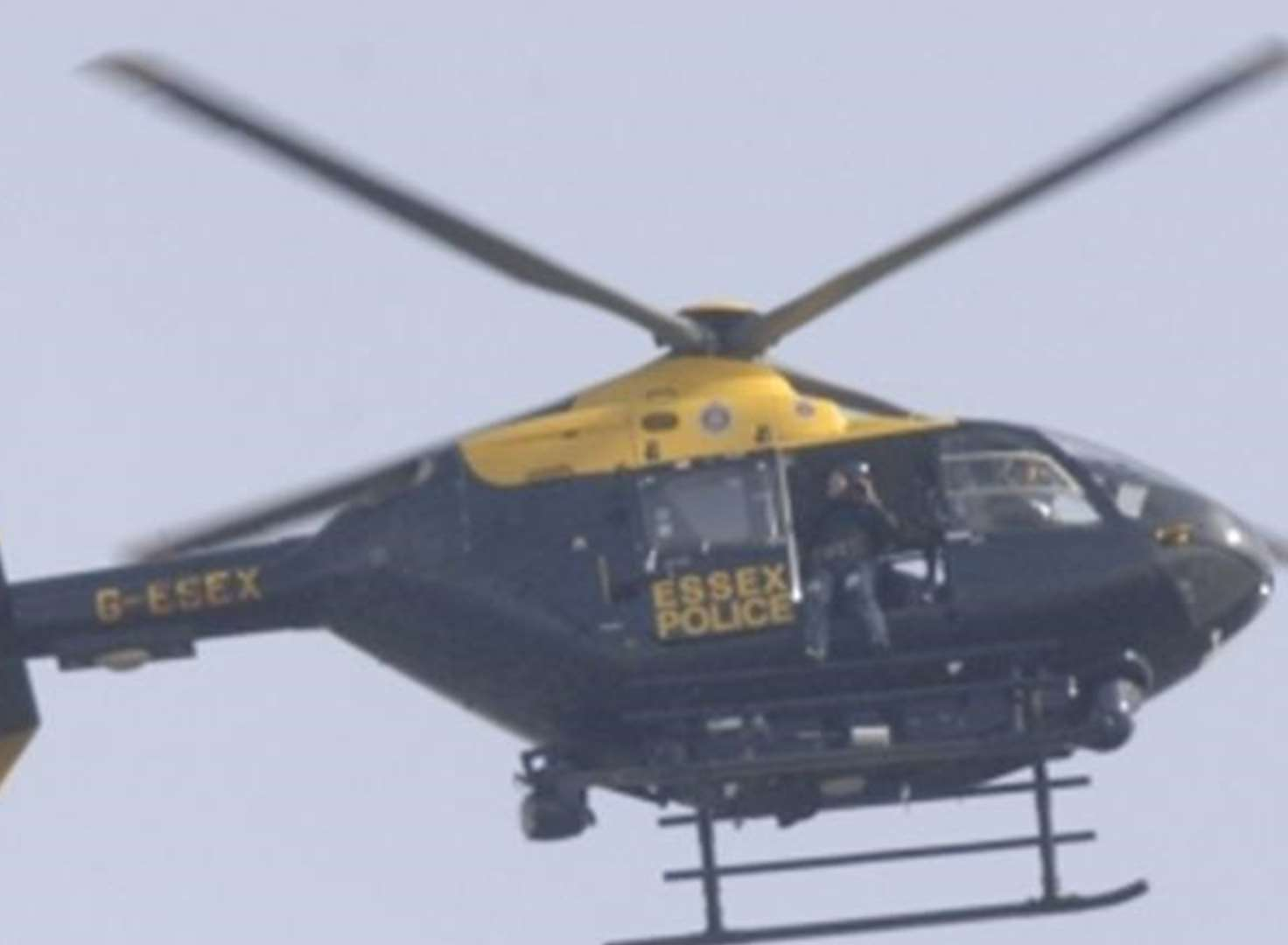Woman arrested after helicopter pursuit