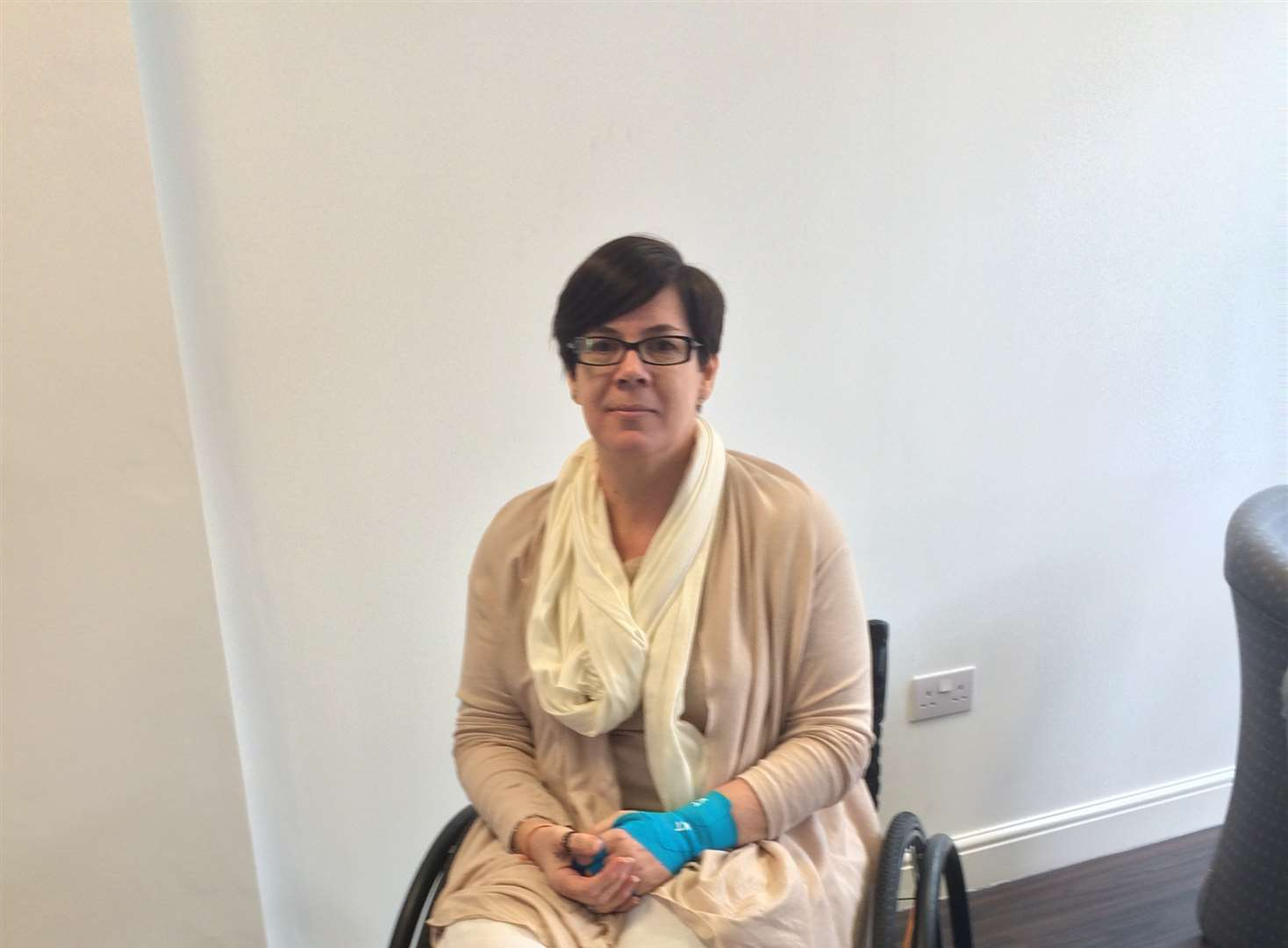 Mum's dream to be first to cross Sahara in wheelchair