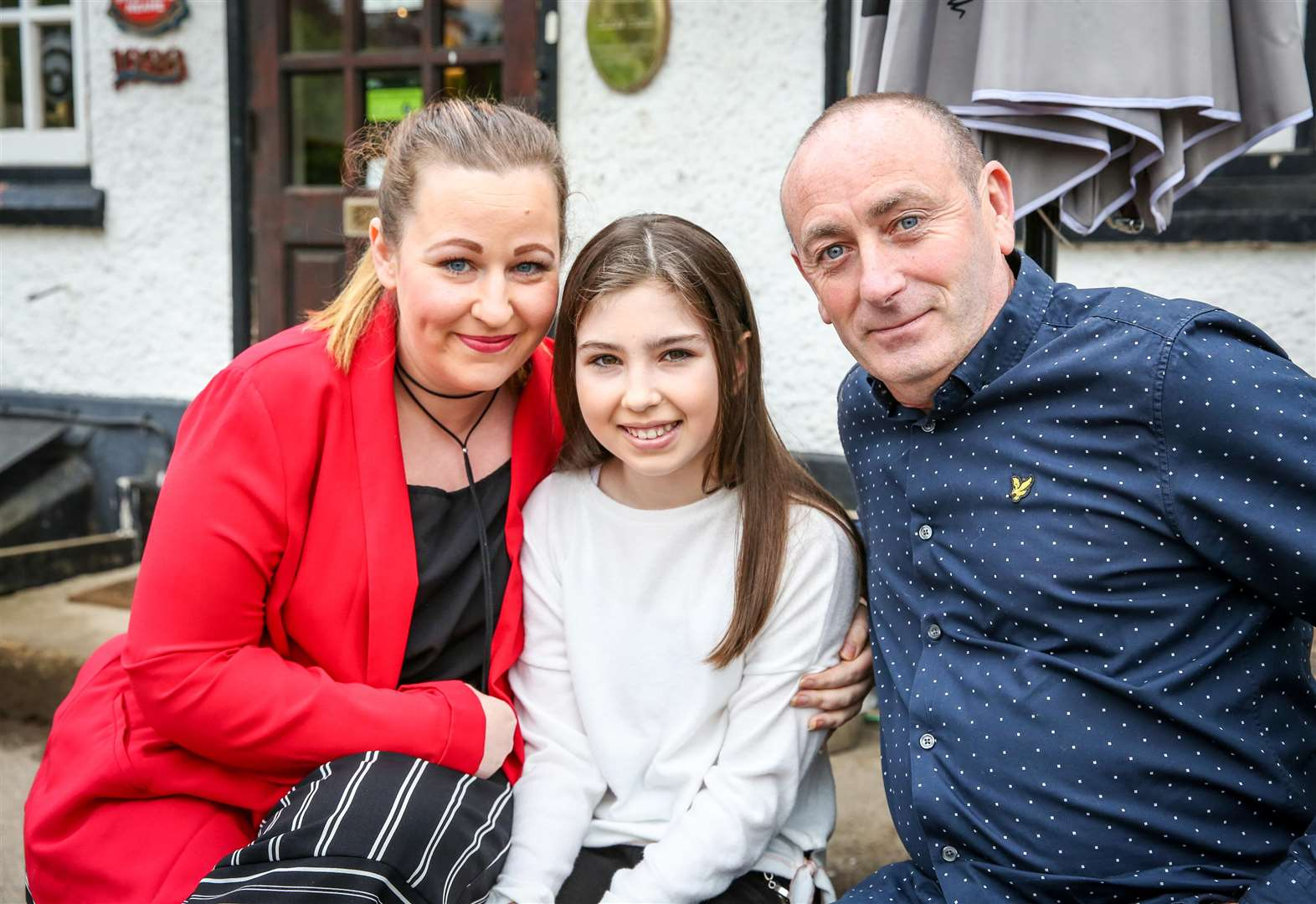 Schoolgirl reunited with river rescue hero