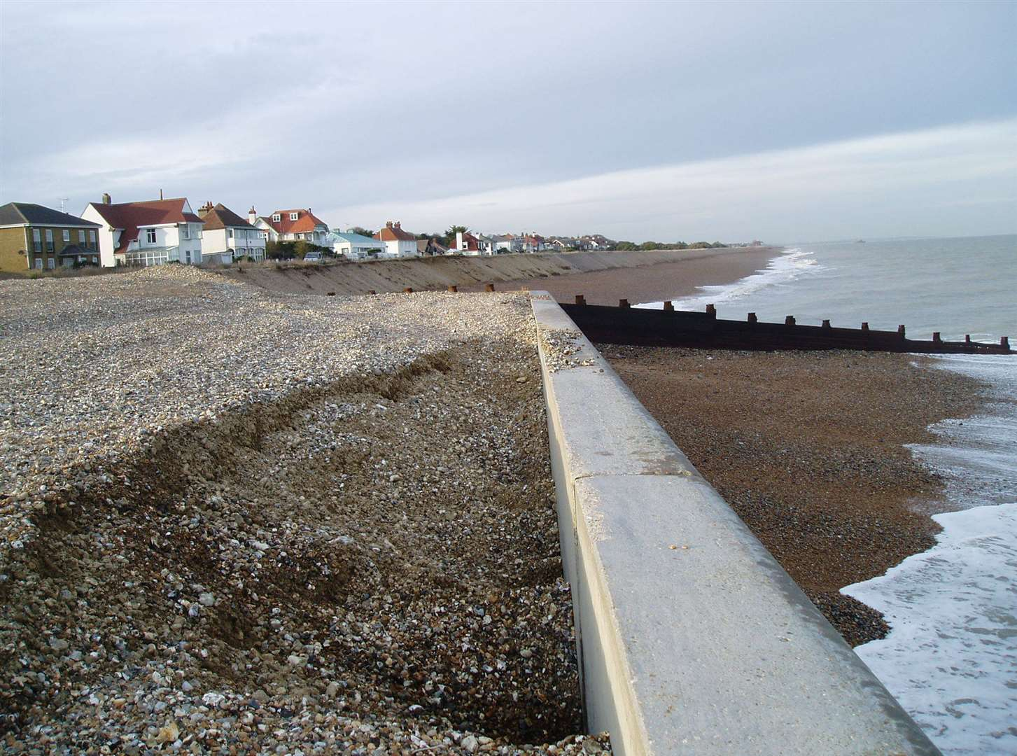 Environment Agency is working on funding sea defences in Kingsdown