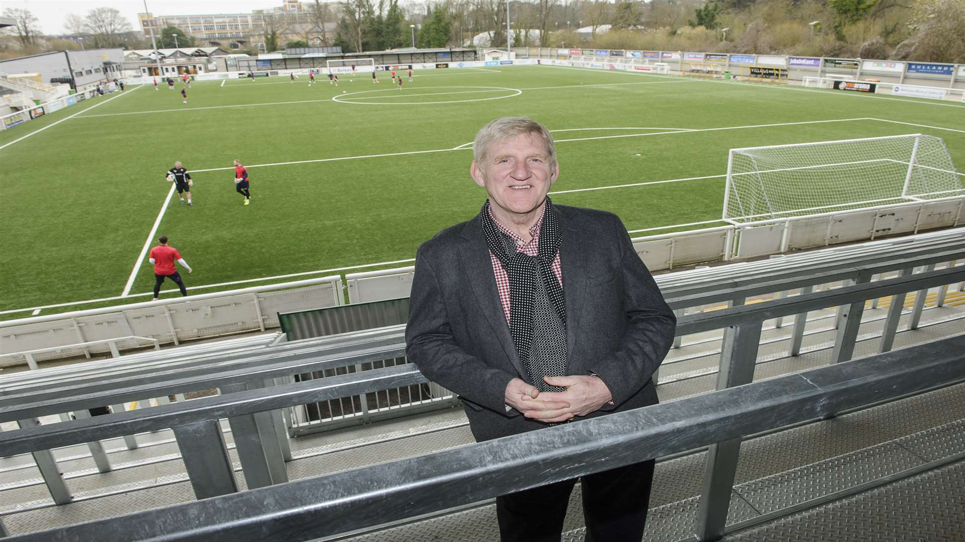 The new stand at the Gallagher offers great views Picture: Andy Payton
