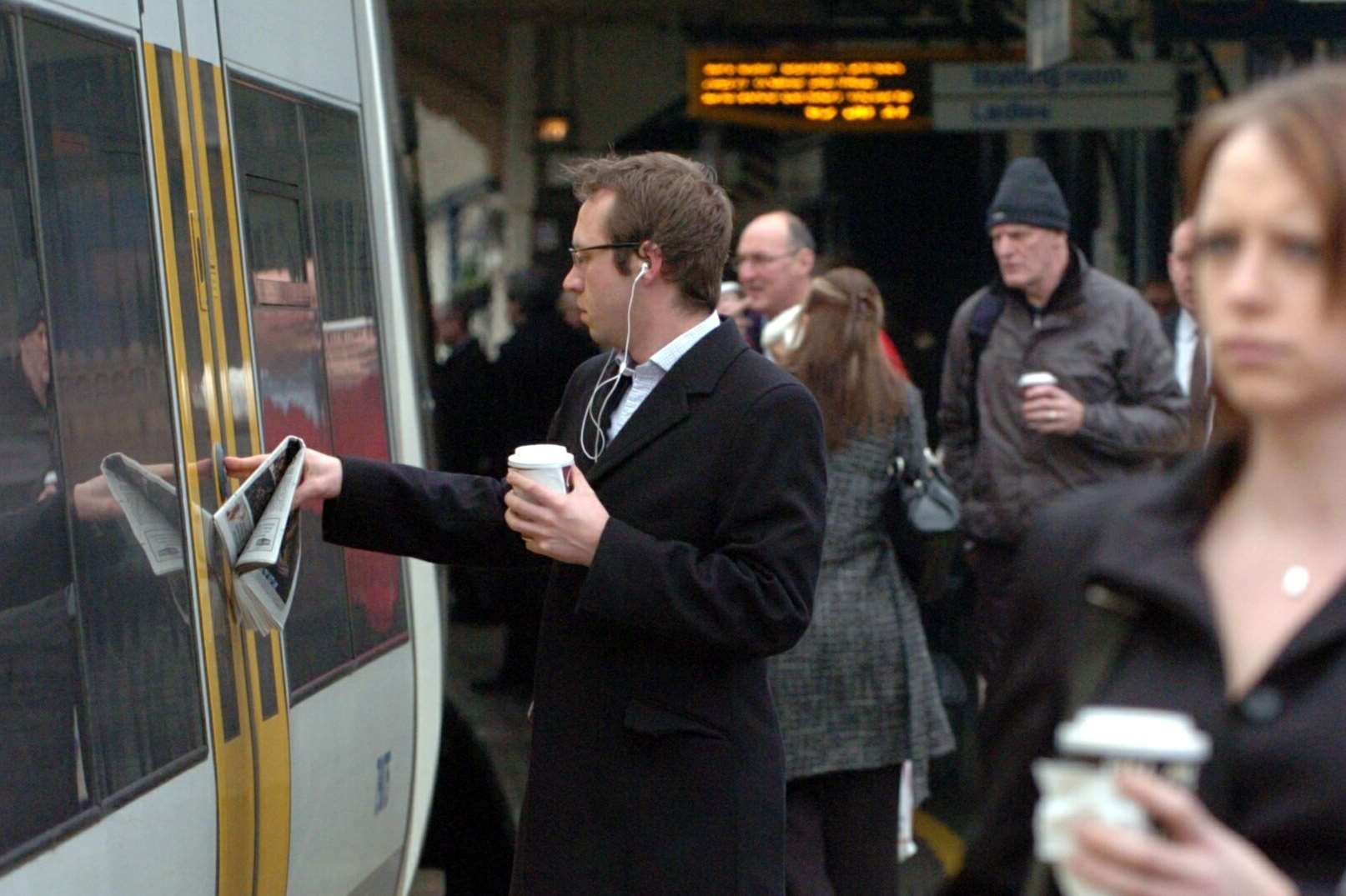 Commuters are being told to expect disruption. Stock image
