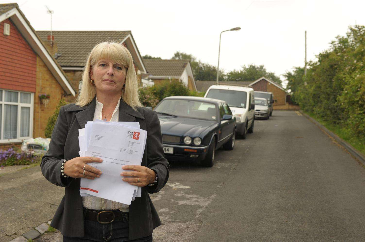 Tina Brooker needs to collect 10,000 signatures for her e-petition by November 18 to trigger a full debate with KCC