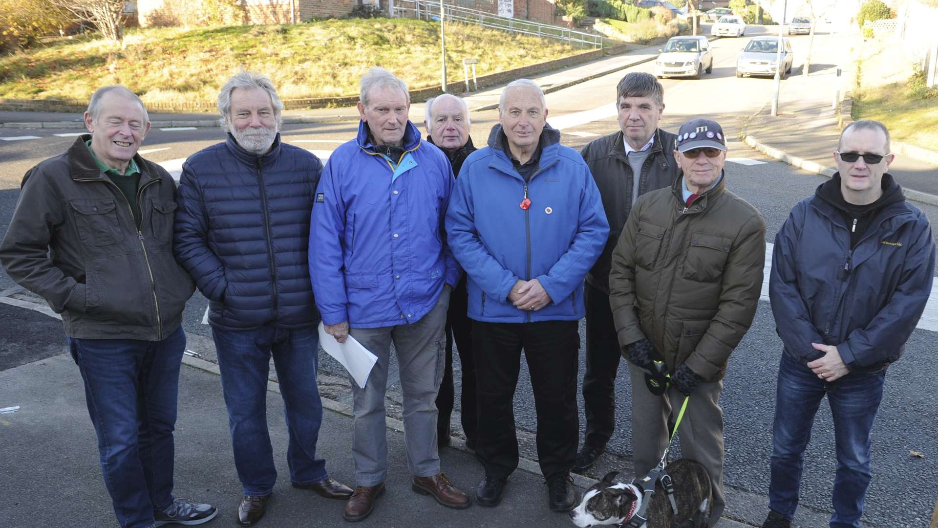 Residents have had enough of the noisy roads outside their homes