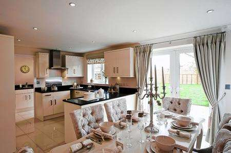 show home dining room | Elagant and impressive