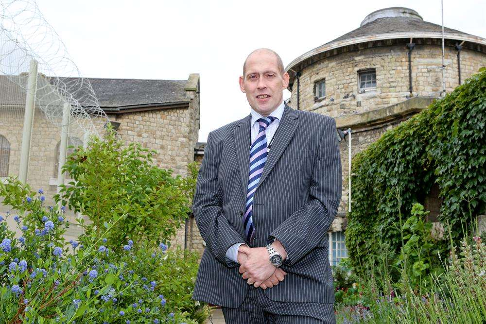 New governor Dave Atkinson at Maidstone Prison