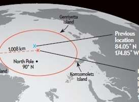 Richard would love to travel to the Northern Pole of Inaccessibility