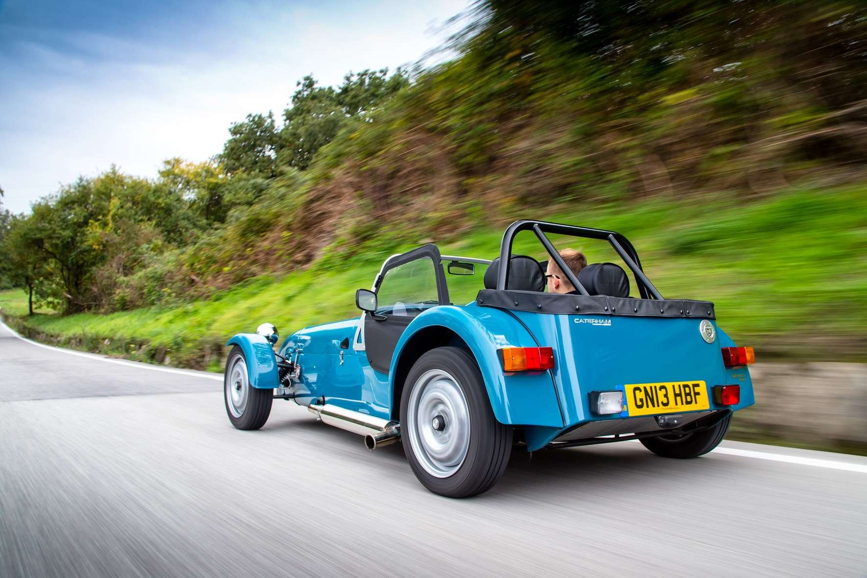The Caterham Seven 160 in 2014