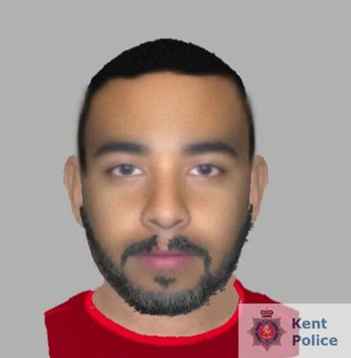 E-fit issued following assault in Ashford by Kent Police