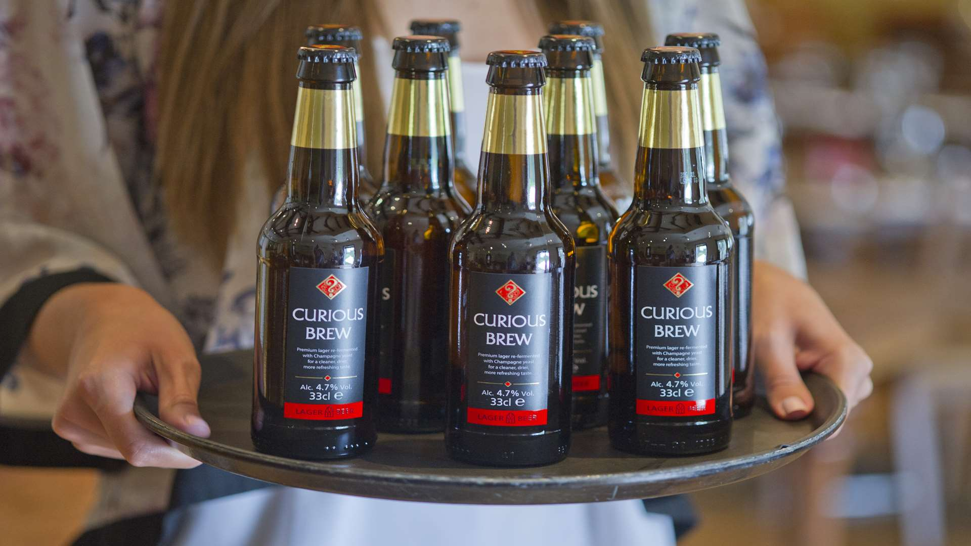Chapel Down also makes beer under its Curious Drinks brand
