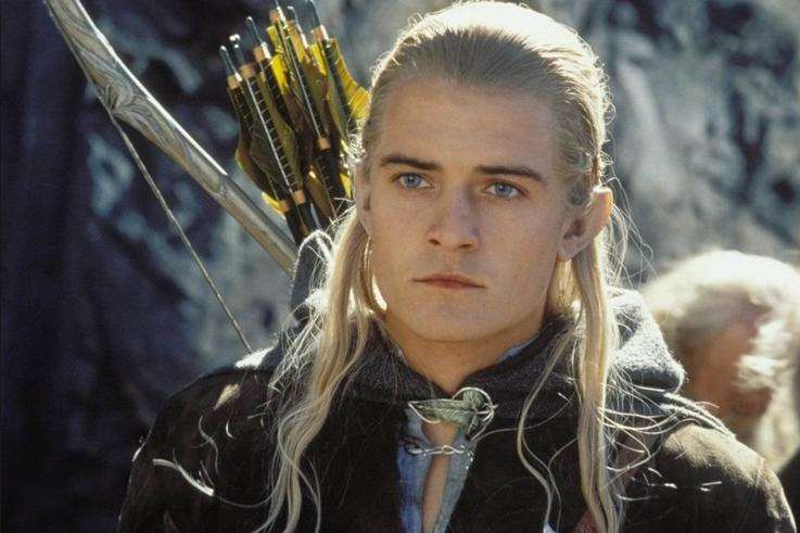 Orlando as Legolas in Lord of the Rings