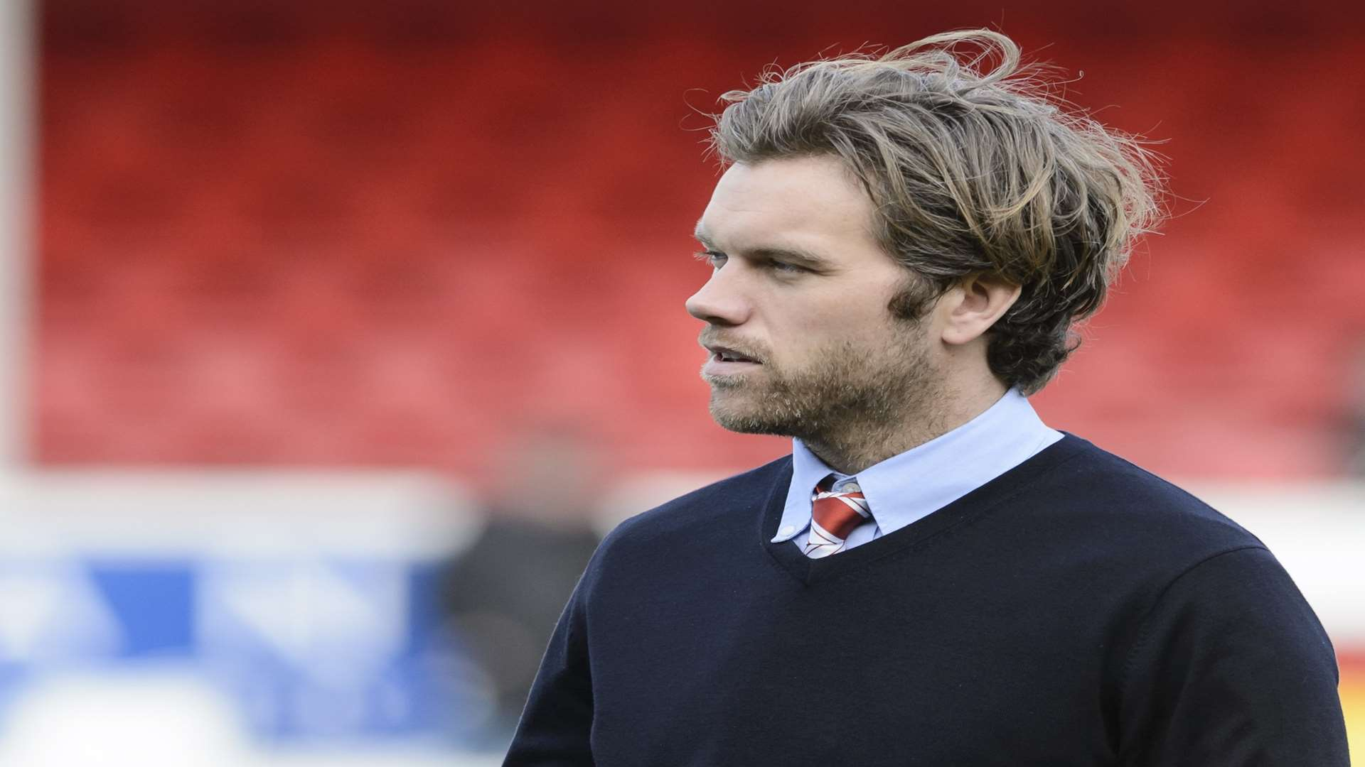 Ebbsfleet boss Daryl McMahon Picture: Andy Payton