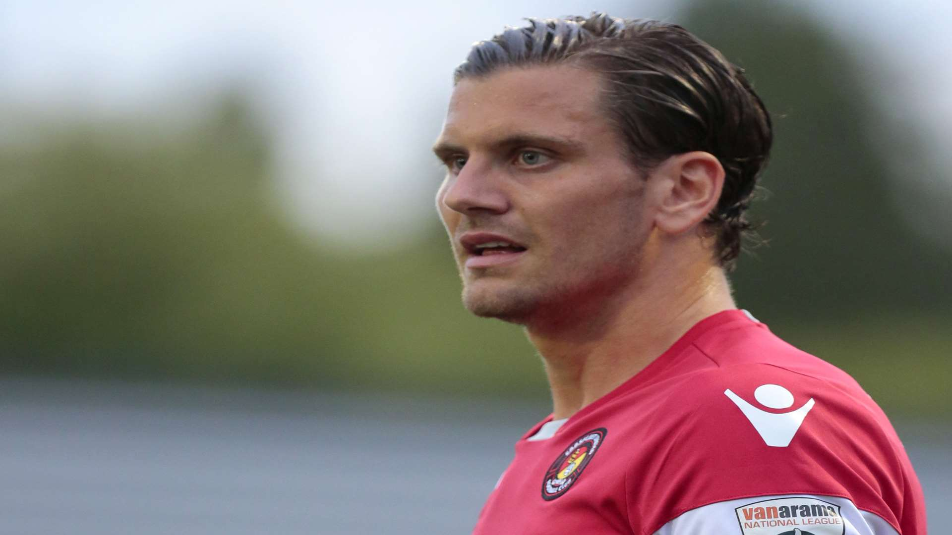 Tom Bonner captained Ebbsfleet United last season Picture: Martin Apps