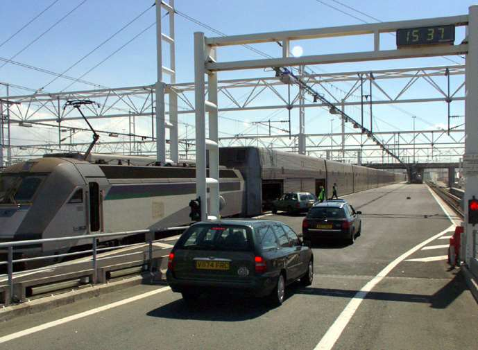 Ashworth was stopped at the Channel Tunnel entrance at Coquelles