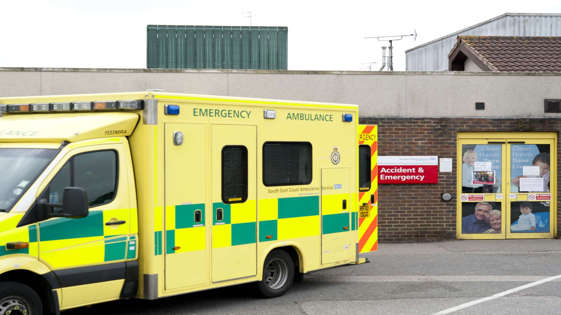 The A&E at the William Harvey.