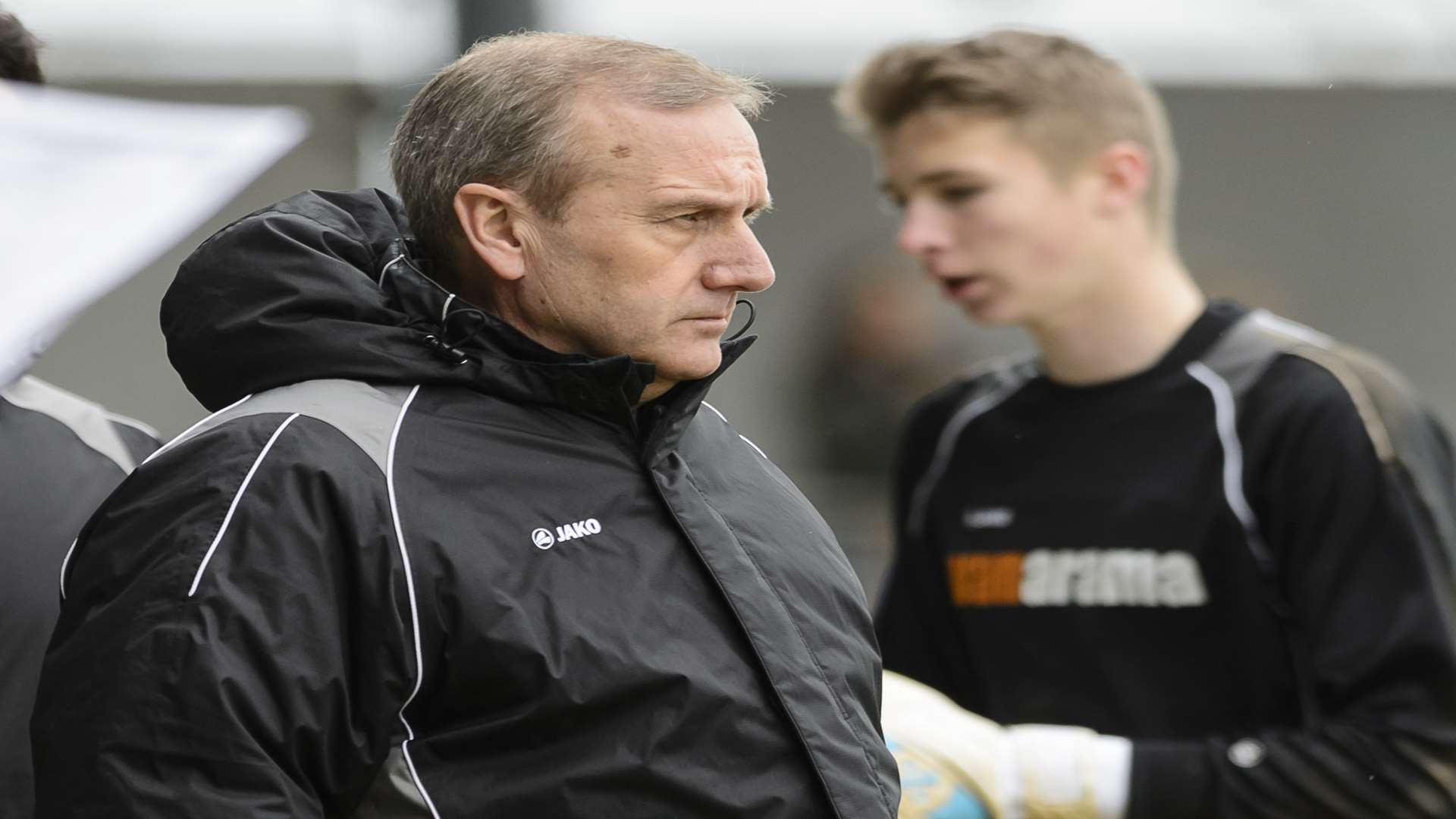 Dartford manager Tony Burman Picture: Andy Payton