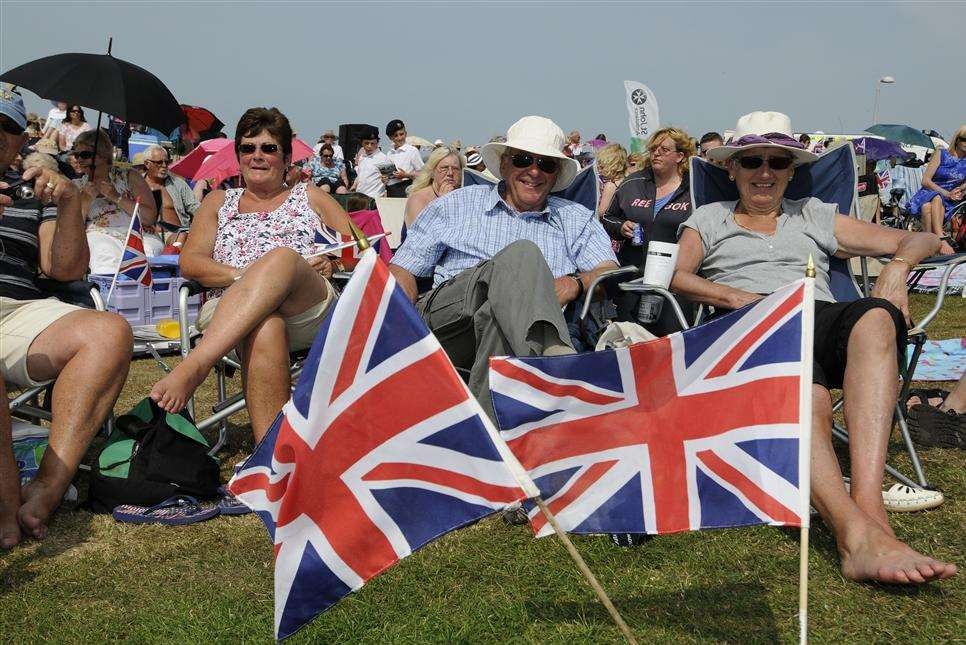 Patriotism will be the order of the day on Walmer Green