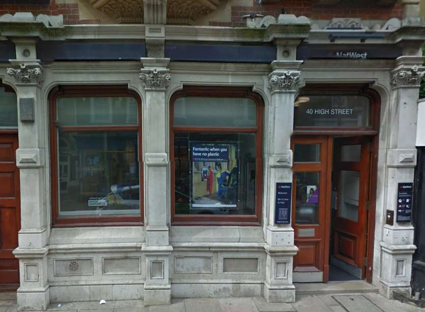 NatWest in Rochester High Street. Pic: Google Maps