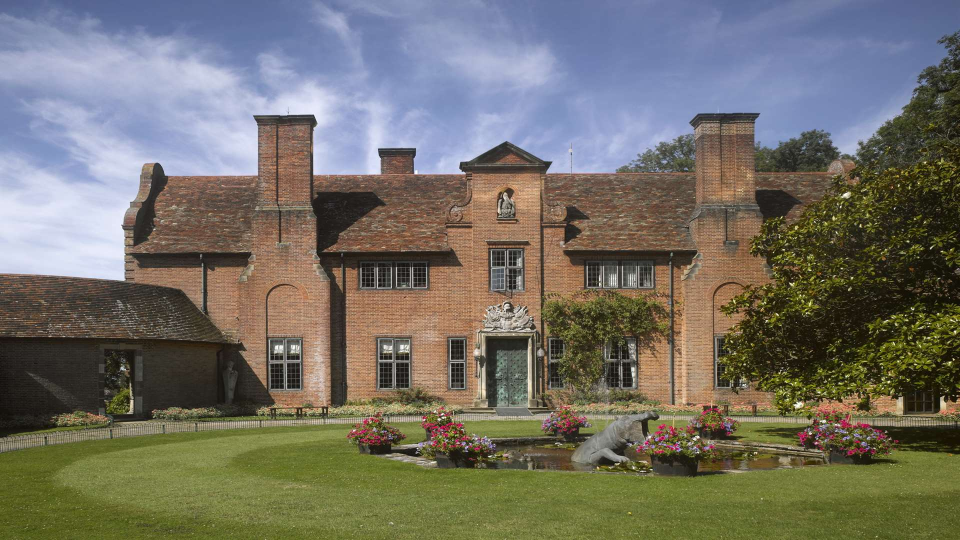 Port Lympne Mansion from the front